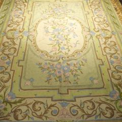 Aubusson Chain Stitch Tapestry Rug