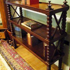 "Portuguese Rosewood ""Whatnot"" Bookshelf"