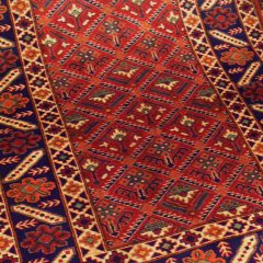 Geometric Tribal Kazak Superfine Wool/Wool