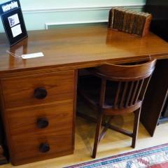 Art Deco Curved Edge Desk