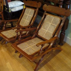 Cane Campaign Folding Chairs