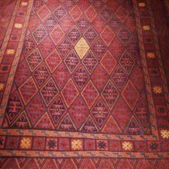 Tribal Kelim Kite Pattern