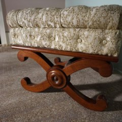 Regency Mahogany stool
