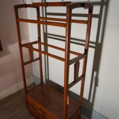 Art Deco Teak Foyer Stand/Cabinet