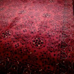 Fine Afghan Deep Red Tribal