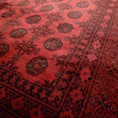Red Afghan Tekke Wool Tribal