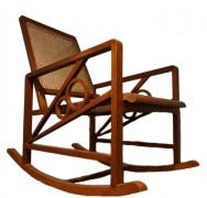 """V8"" Motif Art Deco Rocking Chair"
