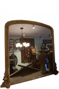 Gilded Wood Carved Mirror